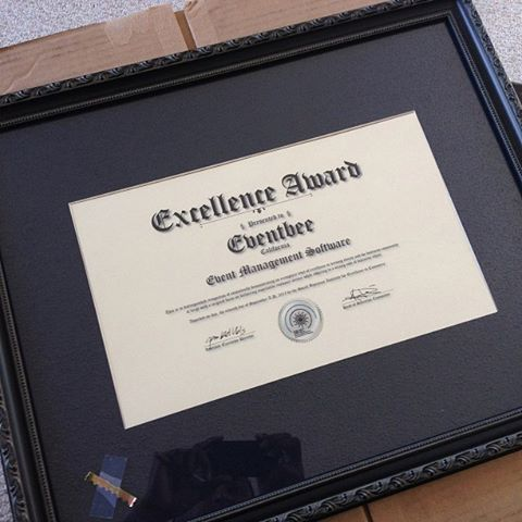 We Received Our Award from the SBIEC (Small Business Institute for Excellence in Commerce)!